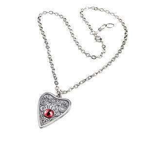 Legends Jewelry - Ouija Planchette Eye Necklace Pendant Goth Witch